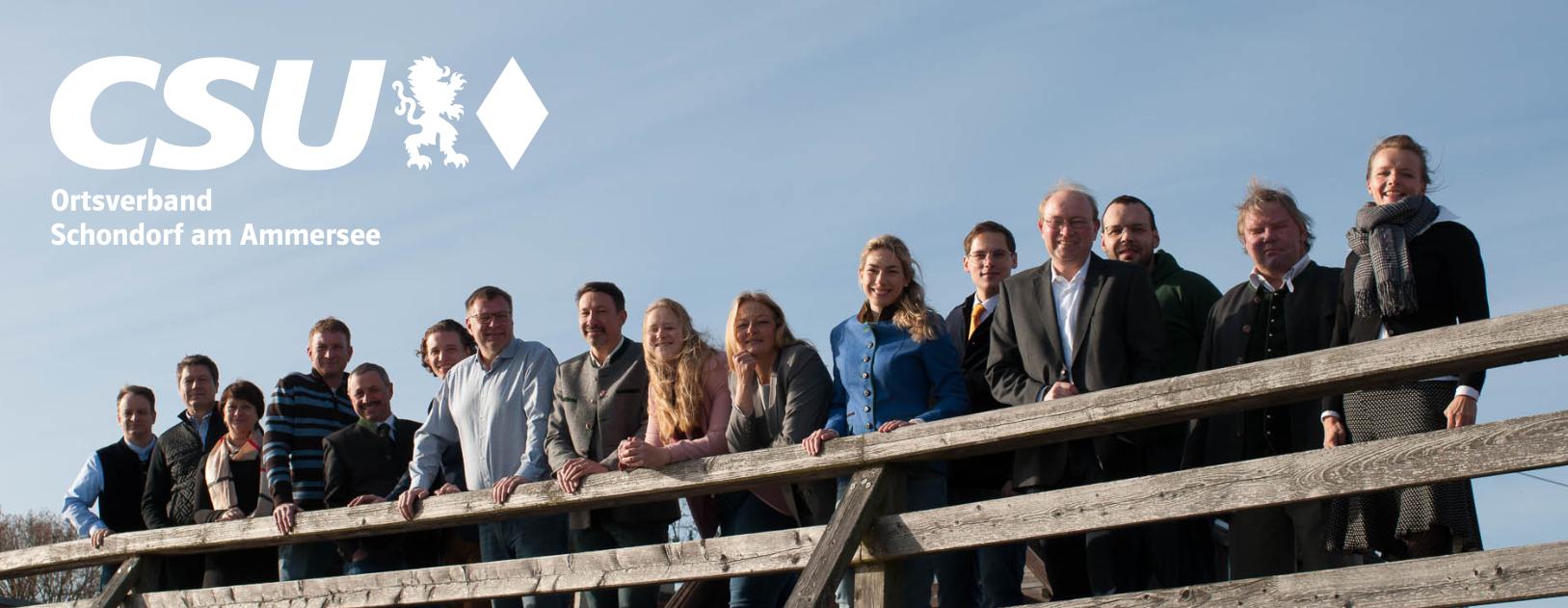 Internetseite der CSU Schondorf